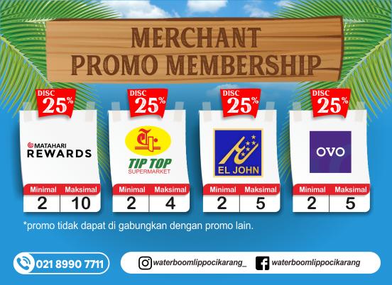 Merchant Promo Membership Discount 25% f6c64a7d52